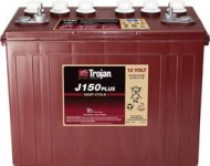 Trojan Deep Cycle 12 volt 150Ah J150 P
